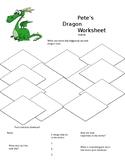 Pete's Dragon Movie Worksheet