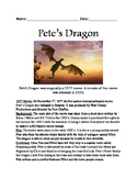 Pete's Dragon - movie review lesson facts questions vocabulary activites