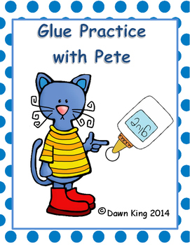 Pete's Glue dot practice