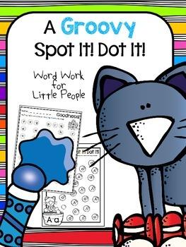 A Groovy Cat:  A Groovy Spot It! Dot It!