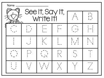 A Groovy Cat: A Rockin' See It, Say It, Write It!