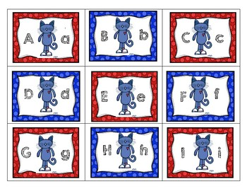 Pete the Cat-ABC and Word Game-Oh No!