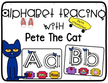 Pete the Cat Alphabet Mats