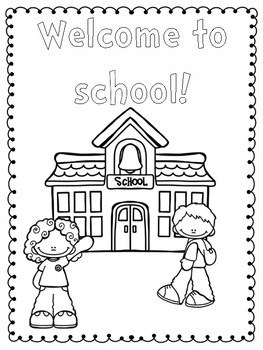 Pete the Cat Back to School 1st Day Activities