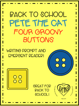 Pete the Cat Back to School Emergent Reader
