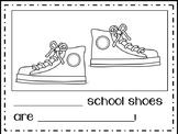 School Shoes Literacy Activities