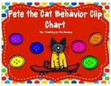 Pete the Cat Behavior Clip Chart