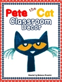 Pete the Cat Classroom Decor