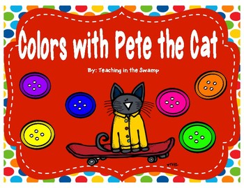 Pete the Cat Color Posters