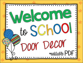 Pete The Cat Inspired Door Decorations By April Showers Tpt