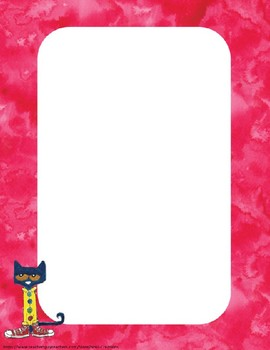 Pete the Cat EDITABLE Name Tags and Labels