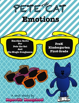 Pete the Cat Emotion Cards