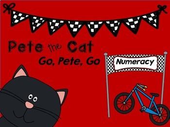 Pete the Cat Go, Pete, Go Differentiated Numeracy Resource