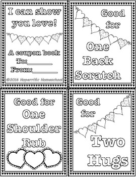 Pete the Cat Groovy Guide to Love Coupon Booklet