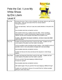 Pete the Cat: I Love My White Shoes Guided Reading Plans