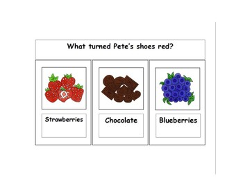 Pete the Cat I Love My White Shoes Resource Pack for ESE, ELL, SPED