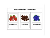 Pete the Cat I Love My White Shoes Resource Pack for ESE,