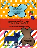 Pete the Cat- I love my White Shoes- NO PREP Worksheets