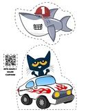 Pete the Cat Jumps 1 Shark
