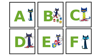 Pete the Cat Levelled Readers labels