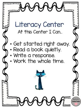 Pete the Cat Literacy Center