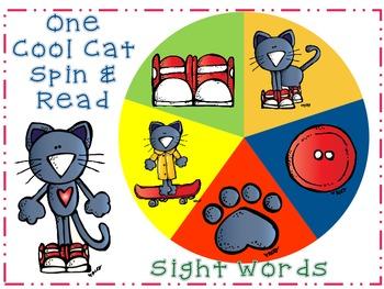 One Cool Cat Math & Literacy Pack B-Kinder/1 CCSS