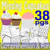 Pete the Cat Missing Cupcakes : Reading Comprehension Thematic Activity Unit