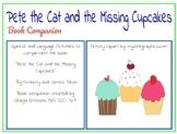 Pete the Cat (Missing Cupcakes) Speech & Language (narrati