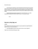 Pete the Cat: Pete's Big Lunch Speech & Fluency Activities
