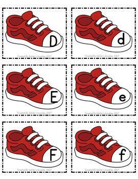 School Shoes Alphabet Cards