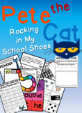 Pete the Cat: Rocking in My School Shoes Activity & Craft   Back to School