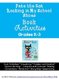 Pete the Cat Rocking in My School Shoes Book Activities