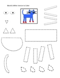 Pete the Cat Rocking in My School Shoes Cut-Out Freebie!