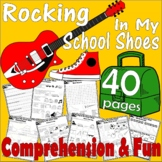 Pete the Cat * Rocking in My School Shoes * Literacy Activity Comprehension Unit