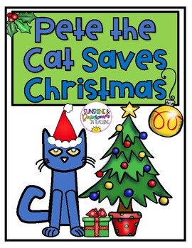 Pete The Cat Saves Christmas.Pete The Cat Saves Christmas Craft And Activity