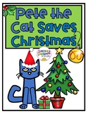 Pete the Cat Saves Christmas Craft and Activity