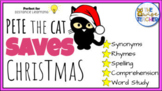 Pete the Cat: Saves Christmas Task Cards l Reading Comprehension and MORE!