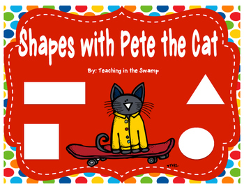 Pete the Cat Shape Posters