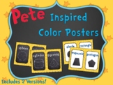 Pete the Cat Inspired Shape Posters