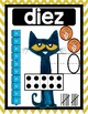 Pete the Cat: Spanish Numbers