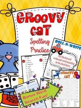 Groovy Cat Spelling Practice