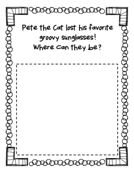 Pete the Cat Story Starters