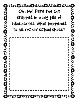 Pete the Cat Story Starters Part 2