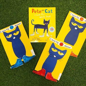 Pete The Cat Template By A Peek Into Prep Teachers Pay Teachers