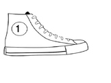 Pete the Cat/Tennis Shoes with Numbers