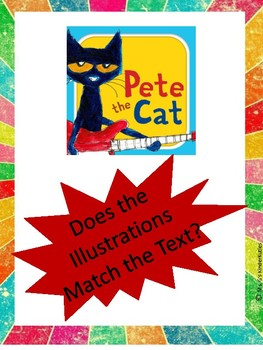 Pete the Cat-Text Matches Illustrations