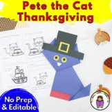 Pete the Cat Thanksgiving Activities
