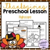 Pete the Cat: The First Thanksgiving Preschool (Highscope) Lesson