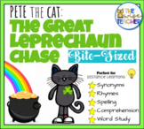 Pete the Cat: The Great Leprechaun Chase (Bite Sized) St Patricks Day Task Cards