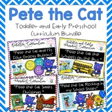 Pete the Cat Toddler and Early Preschool Curriculum Bundle